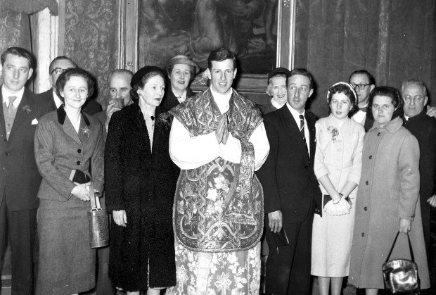 Family Group  - Ordination 1957
