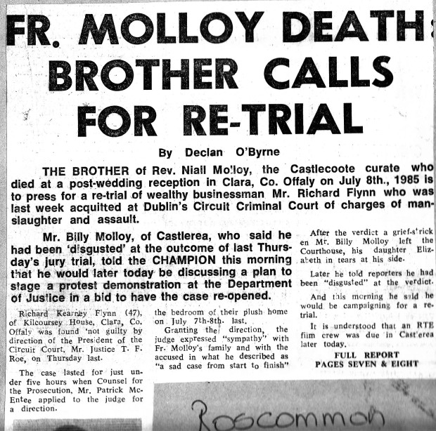 Call for Re-Trial