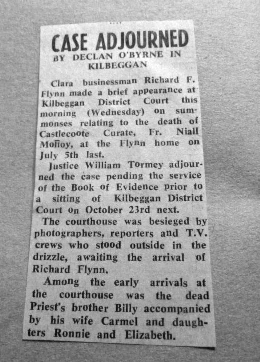 Case adjourned 1985