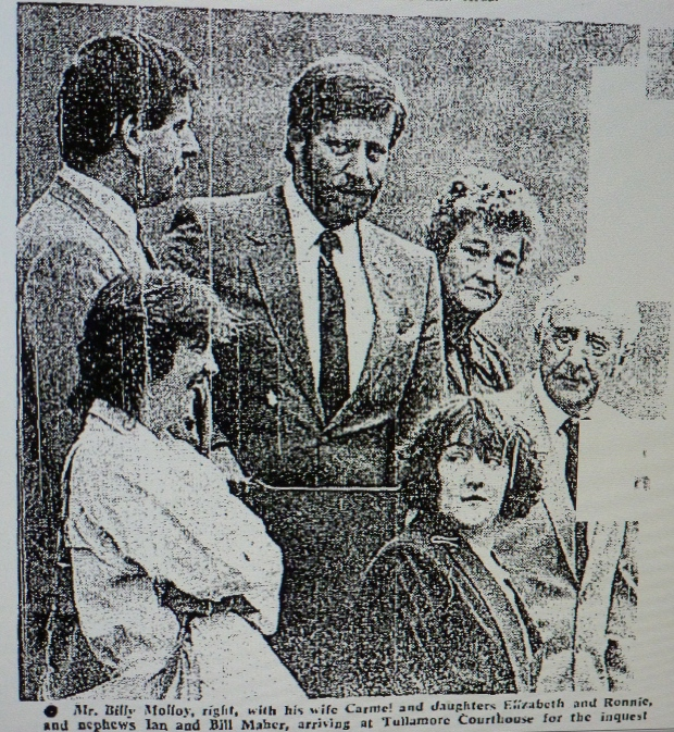 1986. Family attend inquest.