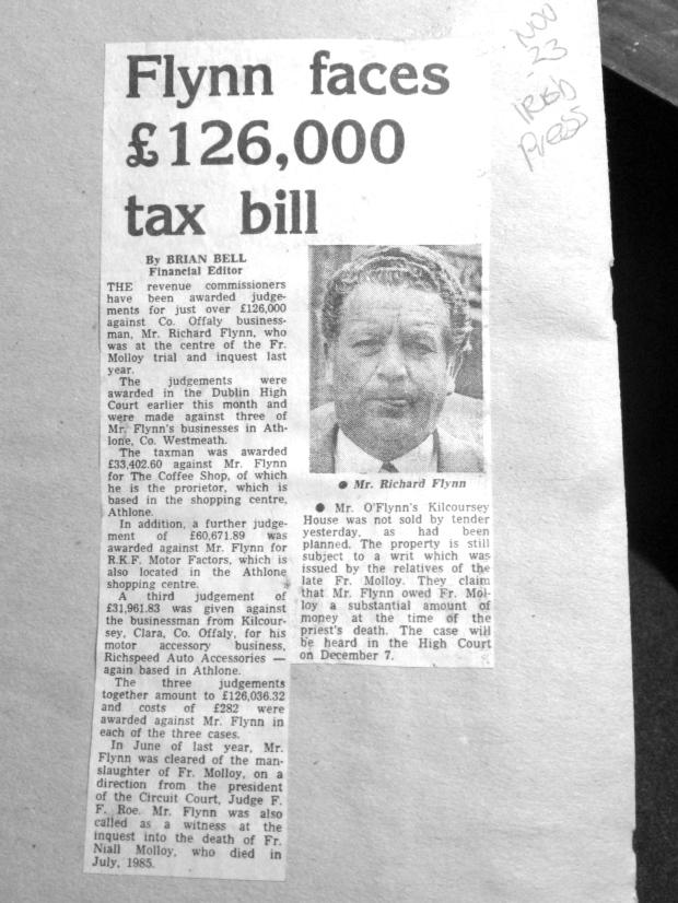 flynn tax