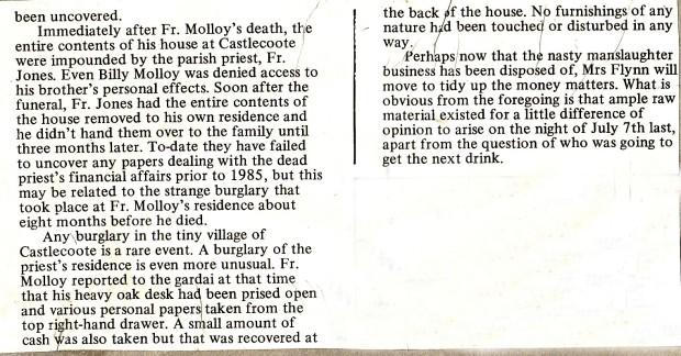 Niall's belongings and a burglary - Phoenix Magazine