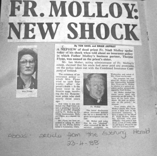 Evening Herald 23 / 4 / 1988