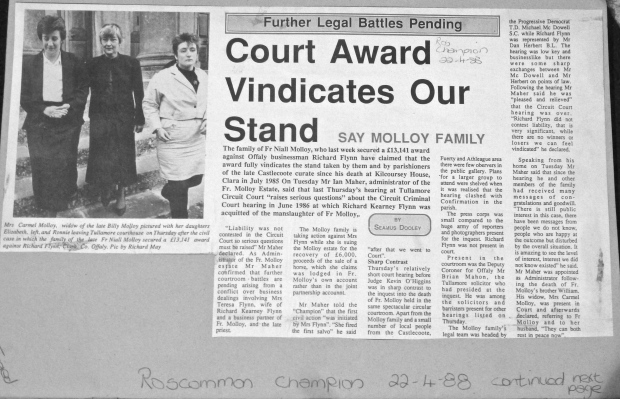 Roscommon Champion 22 / 4 /1988