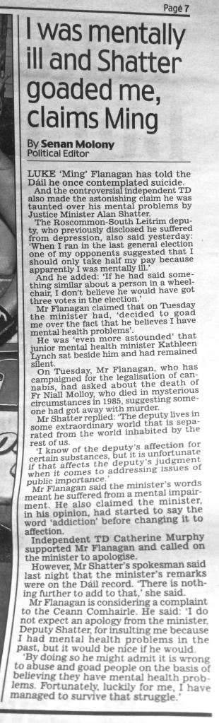 Irish Daily Mail 12 / Dec / 2013