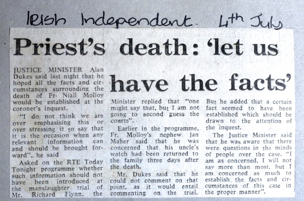 Irish Independent 4th July 1986