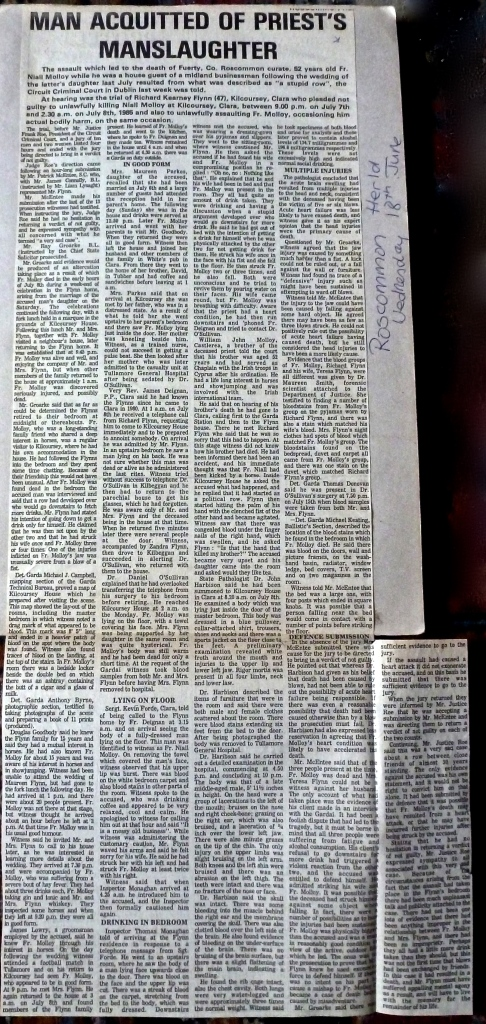 Roscommon Herald-18th. June 1986
