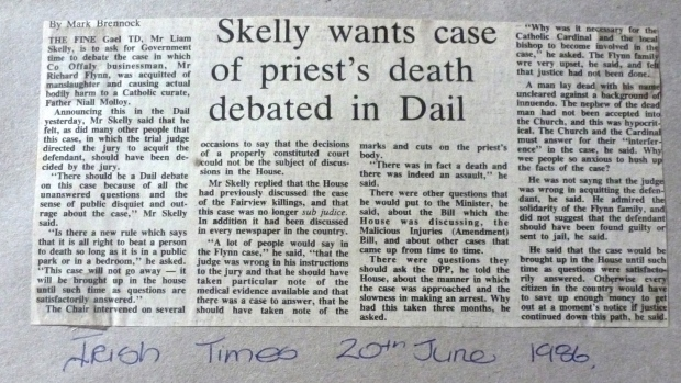 Irish Times 26th June 1986