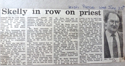 Irish Press June 25th