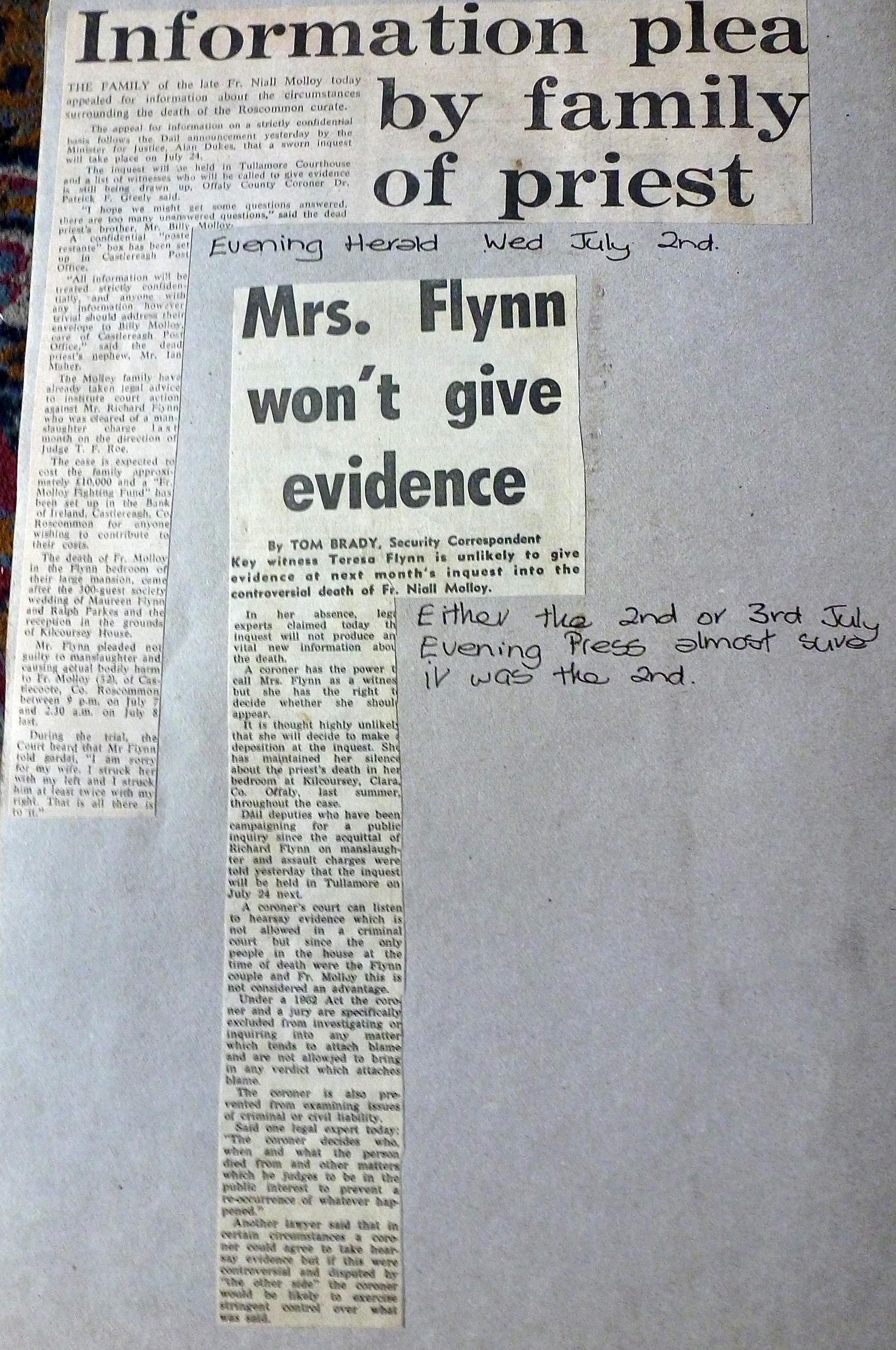 Evening Herald 2 / July / 1986 7 Evening Press