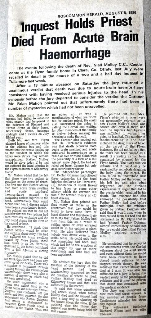 Roscommon Herald August 1986