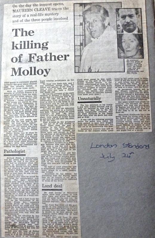 London Evening Standard 24 July 1986