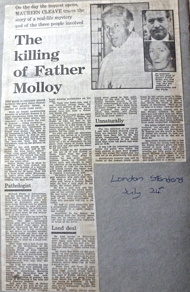 London Evening Standard 24 July 1986