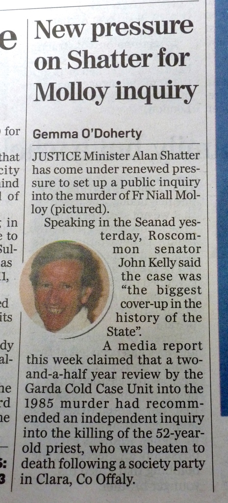Irish Independent 18/4/2013