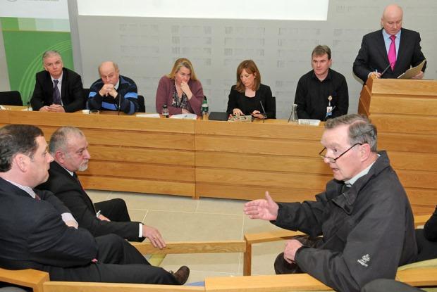 Speakers address meeting of Public Reprentatives