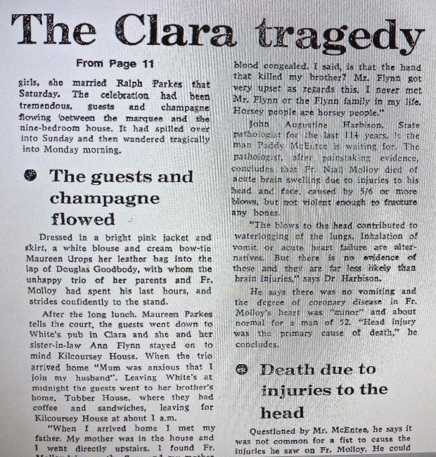 The Clara tragedy