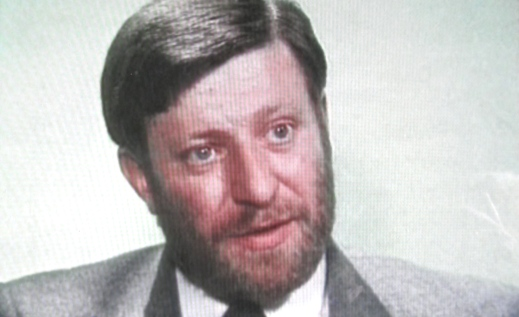 ian Maher on 'Today Tonight', RTE 1986