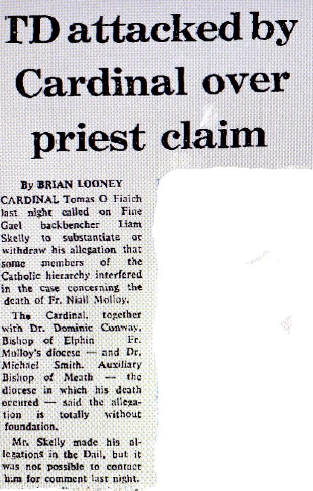 Irish Independent  June 1986