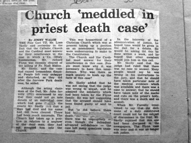 Church meddled