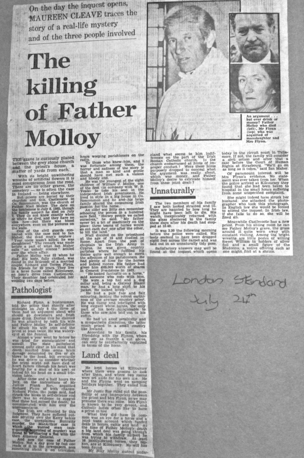 London Standard 24 / July /1986