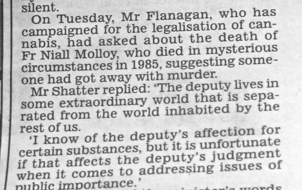 Shatter : Flanagan