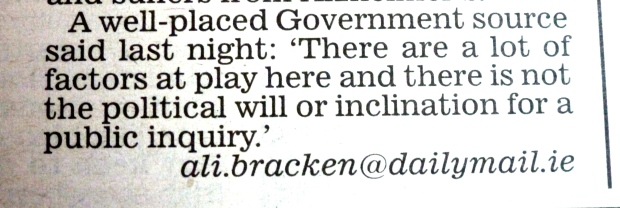 Ali Bracken - Irish Daily Mail