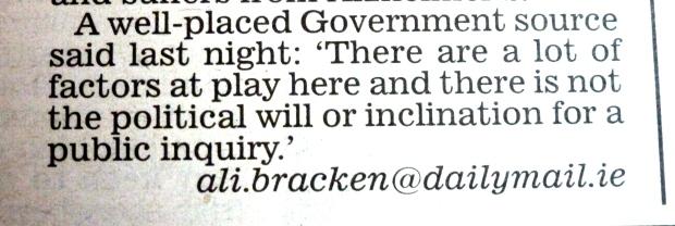 Ali Bracken - Irish Daily Mail