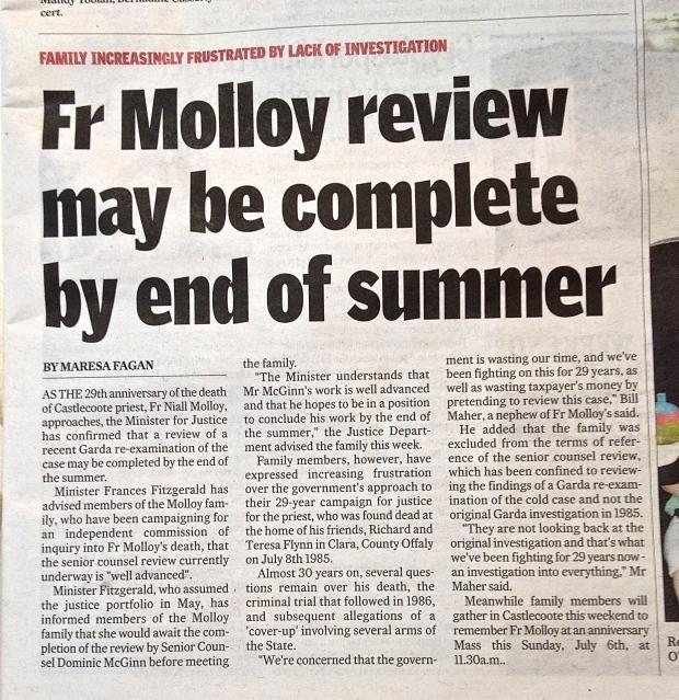 Roscommon Herald  1st July 2014