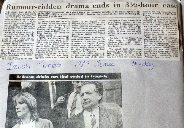 Irish Times 13th June 1986
