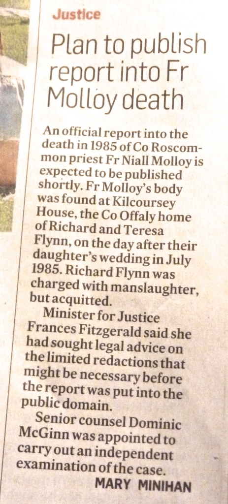 Irish Times 4th Dec 2014