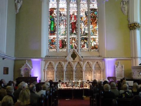 Unitarian Church Dublin. 26th Sept 2015